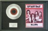 "SLADE - 7"" Platinum Disc+Song Sheet- EVERYDAY"